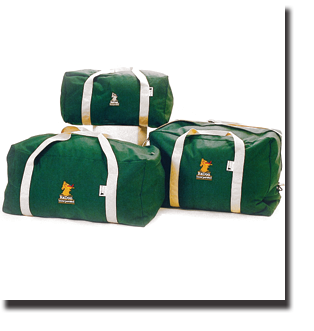 horse show lined and padded duffle bags